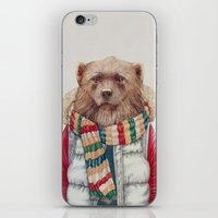 WinterWolverine iPhone & iPod Skin