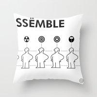 The Avengers X IKEA Mashup Throw Pillow
