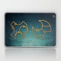 Doctor Who In Circular G… Laptop & iPad Skin