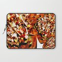 Flowers on a table 2 Laptop Sleeve