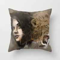 kingdom of beauty Throw Pillow