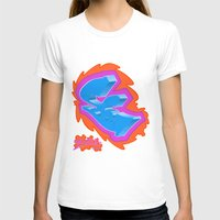 graffiti T-shirts featuring Graffiti... by Dousan
