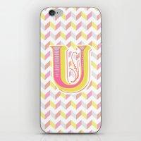 Letter U iPhone & iPod Skin