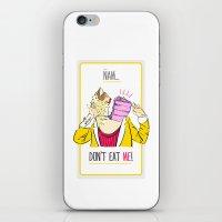 Don't Eat Me! iPhone & iPod Skin