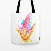 And We Will Never Speak … Tote Bag