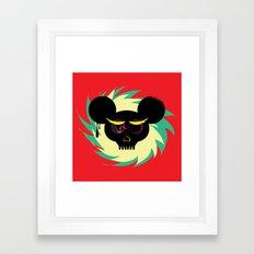 rat poison Framed Art Print