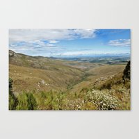 African Scenery Canvas Print