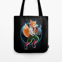 Fox McCloud Tote Bag