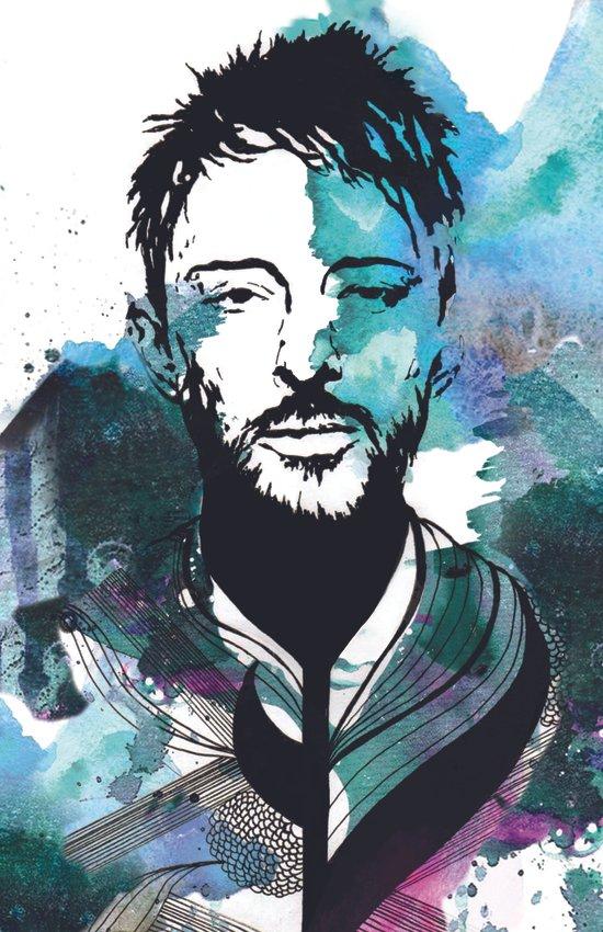 Thom Yorke Illustration Canvas Print