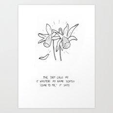 Haiku #3 Art Print
