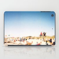 New York Summer at the Beach #1 iPad Case
