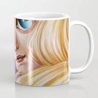 Sailor Moon and Luna Mug