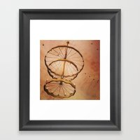 The Spiral Bot Framed Art Print