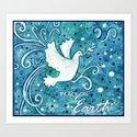 Peace Dove Art Print