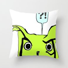 Dafuq? Throw Pillow
