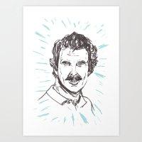 Tom Selleck! Art Print