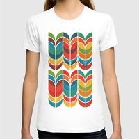 rainbow T-shirts featuring Tulip by Picomodi