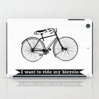 Bicycle iPad Case