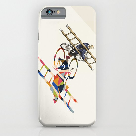 Walking Shadow, Bicyclist iPhone & iPod Case