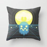 Pac-Monster Throw Pillow