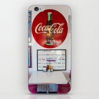 Diner Route 66 iPhone & iPod Skin