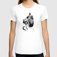 Ballet Shoes Womens Fitted Tee White SMALL