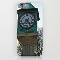 iPhone & iPod Case featuring Tick Tock by JuliHami