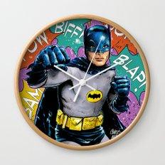 SAME BAT-TIME Wall Clock