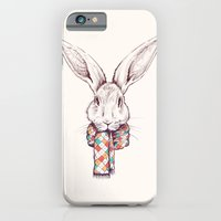 iPhone & iPod Case featuring Bunny and scarf by ValD