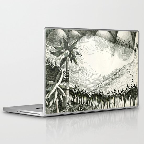 Moon Hunting Laptop & iPad Skin