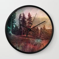 forest3 Wall Clock