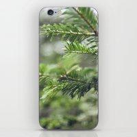 Quelque-chose de vert iPhone & iPod Skin