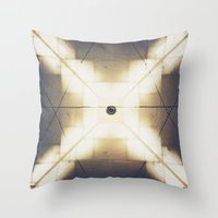 X is up Throw Pillow
