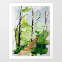 Cool Air Afton Art Print