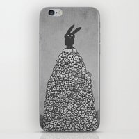 The Black Bunny Of Doom … iPhone & iPod Skin