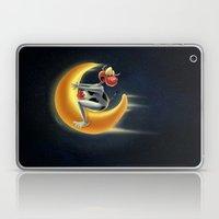 Crazy Moon Cow Laptop & iPad Skin