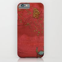 iPhone & iPod Case featuring The Crab and the Monkey by Camilo Nascimento