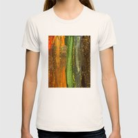 Sparkle And Shine Womens Fitted Tee Natural SMALL