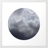 Planetary Bodies - Cloud Art Print