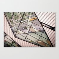 The ROM Canvas Print