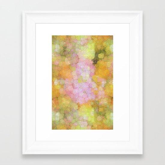 Sophisticated Snakeskin Framed Art Print