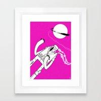 Intergalactic Planetary Framed Art Print