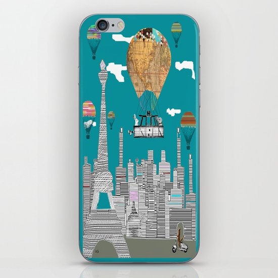 adventure days paris iPhone & iPod Skin