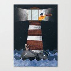 El faro!! Canvas Print