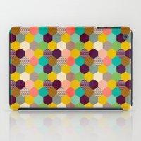 Fun Hexagon iPad Case