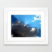 The glory Framed Art Print