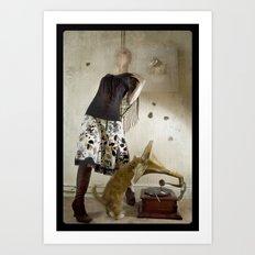 HMV Art Print