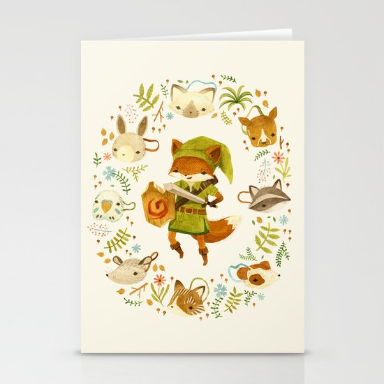 The Legend of Zelda: Mammal's Mask Stationery Card