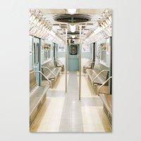 Subway Past Canvas Print