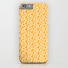Floral mix - lace yellow iPhone 6 Slim Case